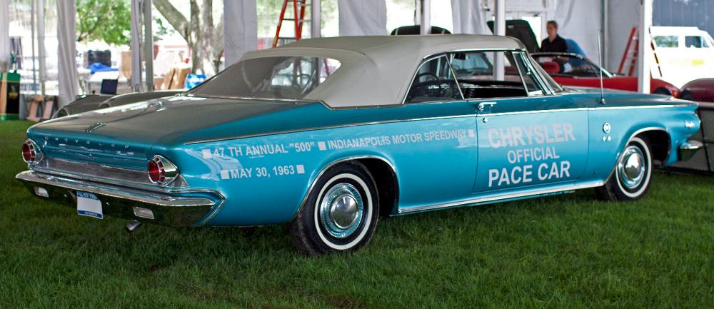 1963 Chrysler 300 Pace Setter Convertible - Chrysler 300 non-letter series - Wikipedia