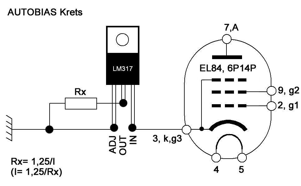 Pour utiliser des lampes non appariées, un circuit à «auto