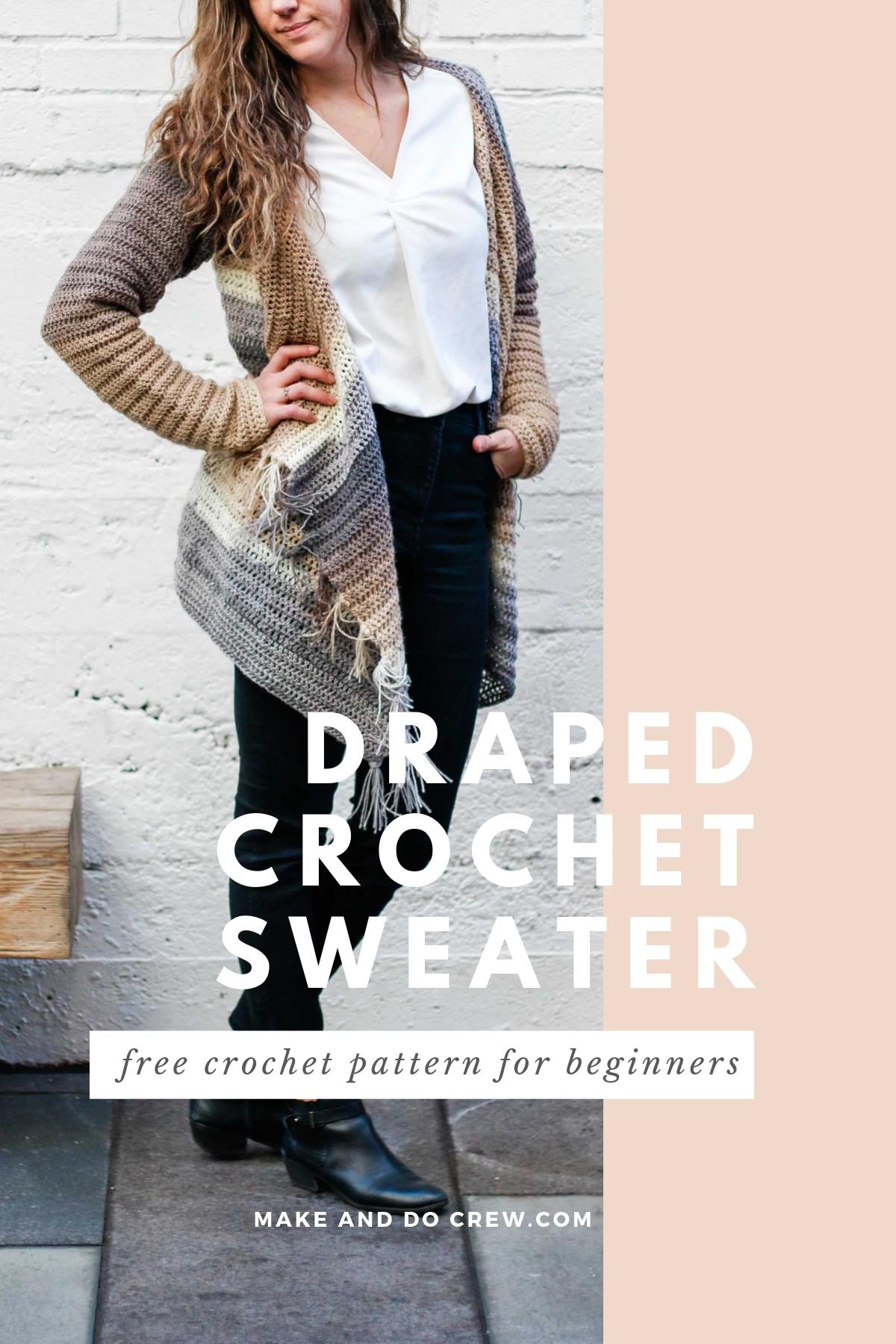 Photo of Easy Crochet Cardigan With Hood – Free Pattern + Tutorial