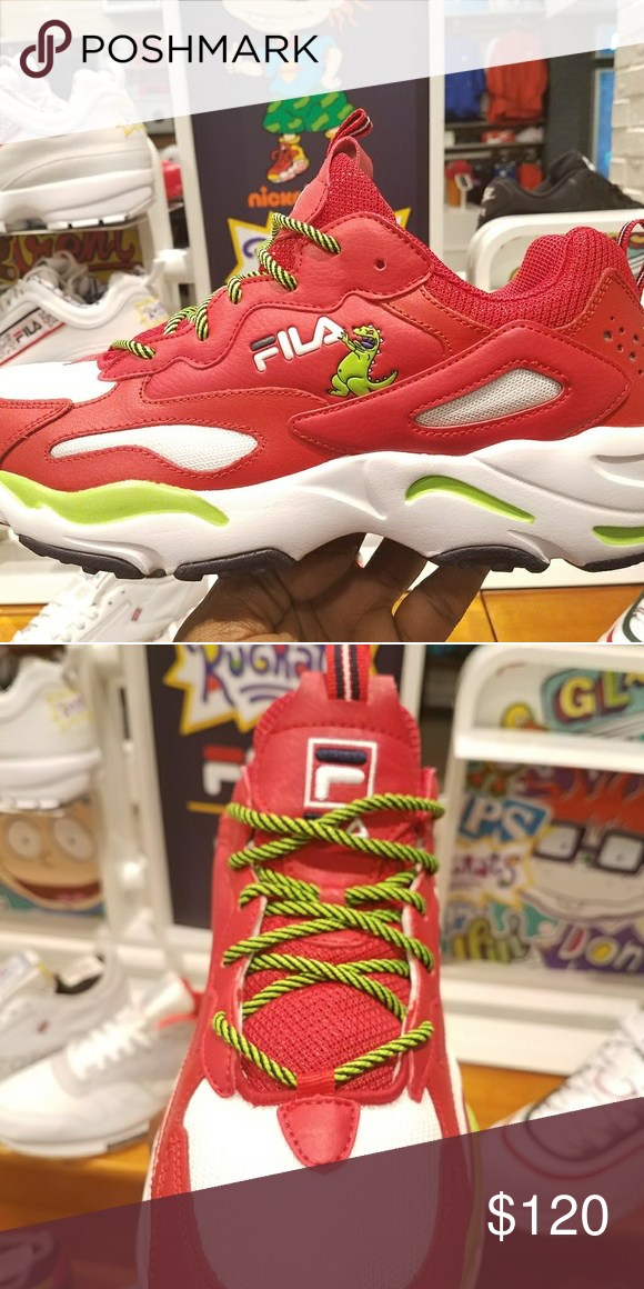 c2c788b7d522e Exclusive release Fila Rugrats Repptar Red sneaker 🎉🎊Exclusive release  new Rugrats Reptar Red Sneakers fast shipping various sizes 🚨🚨 limited  time ...