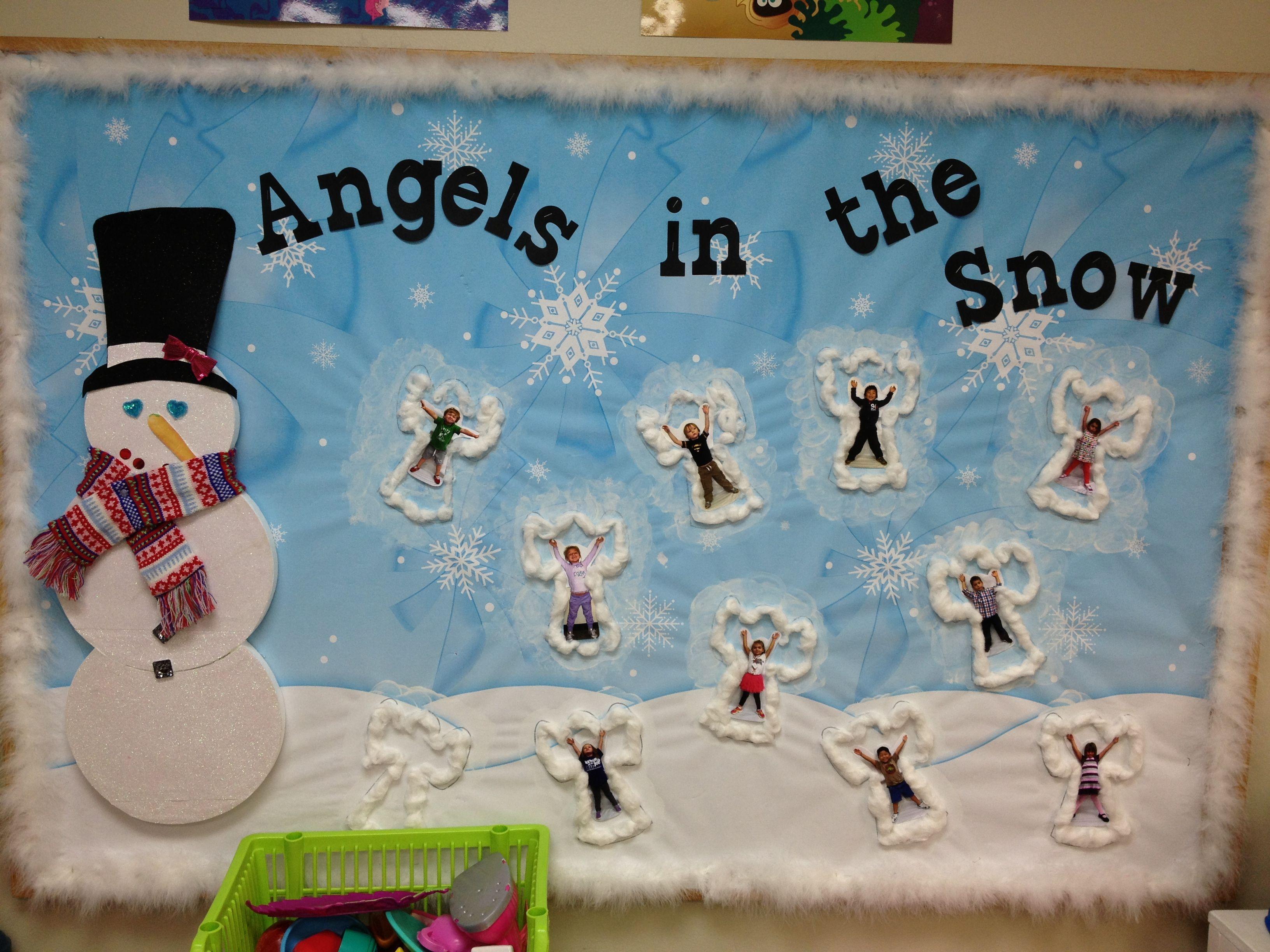 Winter Bulletin Board Preschool | Display It (Pre-K ...  Winter Bulletin...