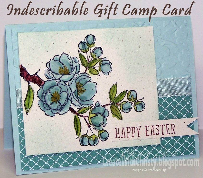 Stampin' Up! Indescribable Gift Easter Card - Create With Christy - Christy Fulk, Stampin' Up! Demo