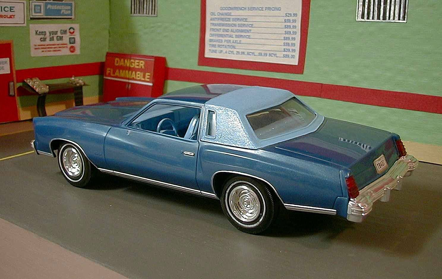 1977 Monte Carlo Model Model Cars Kits Plastic Model Cars Car