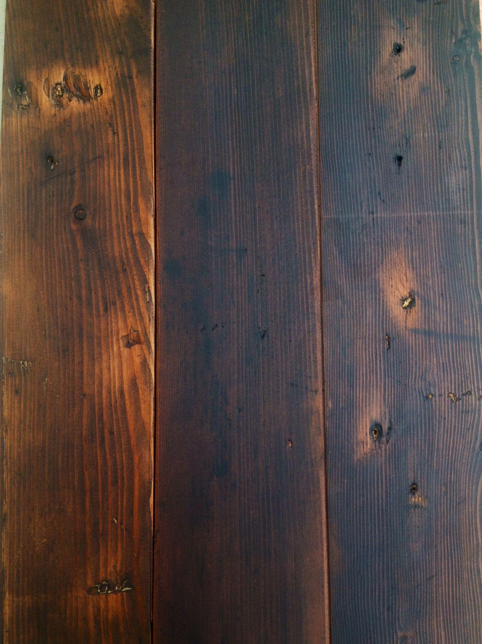 Staining Douglas Fir Flooring