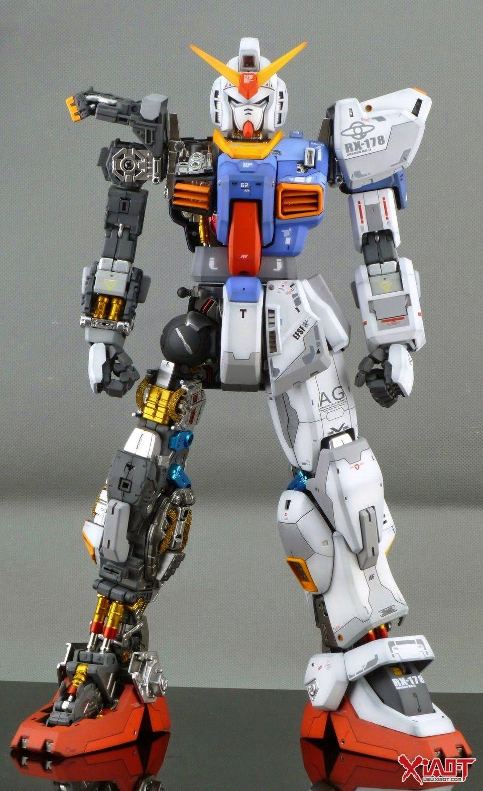 GUNDAM GUY: PG 1/60 Gundam Mk-II - Customized Build