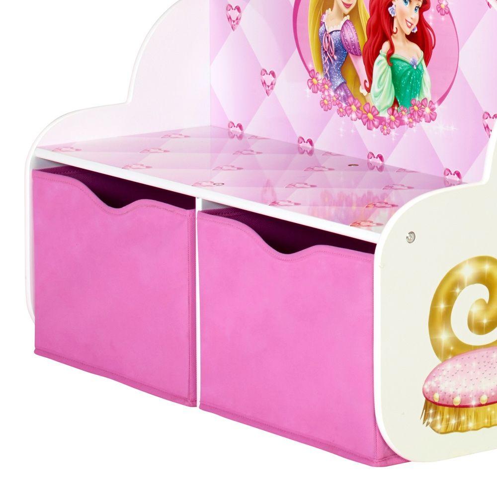 Disney Princess Carriage 2 Drawer Storage Bed | Disney ...