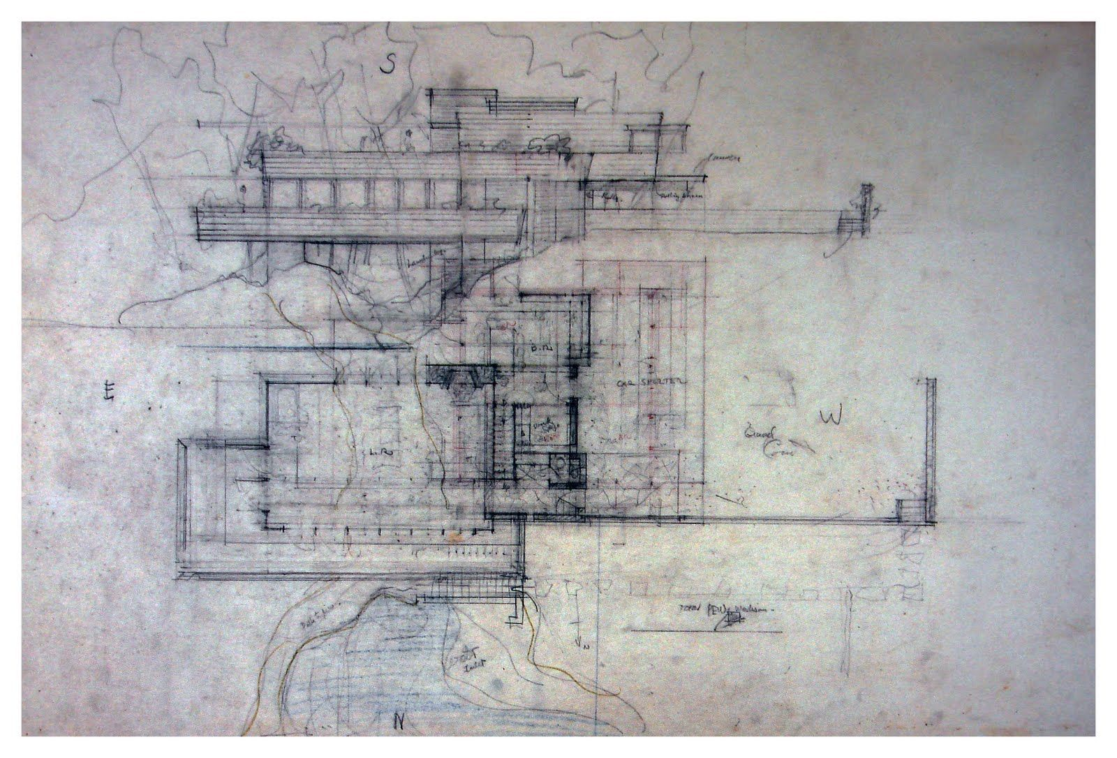 Pew House Frank Wright Google Search Dibujo Arquitectonico Arquitectura Croquis Dibujo