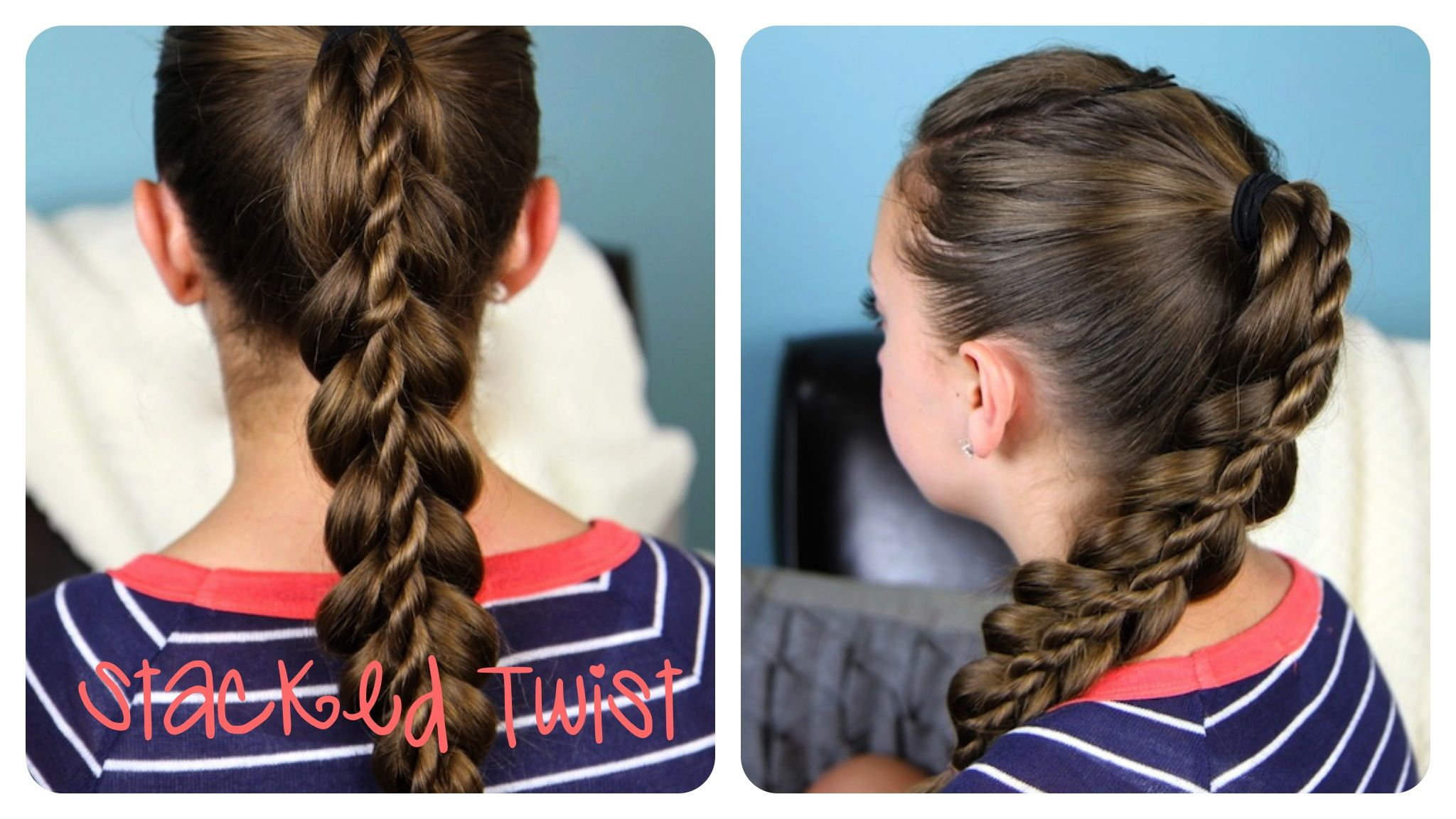 Cute Braid Hairstyles Interesting Rope Braids  Cute Girls Hairstyles  Page 2  Cool Hairstyles