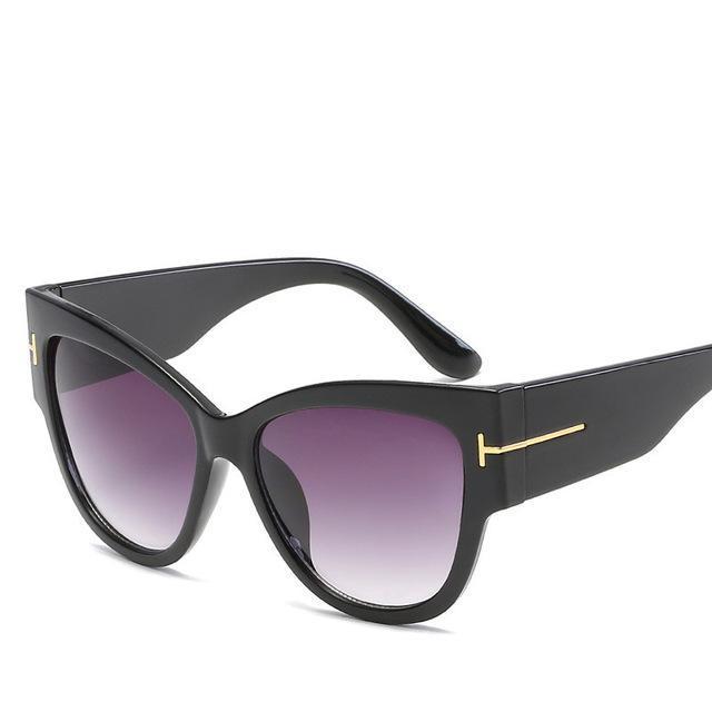 0c0c3800e6e PURPLE RELIC  Luxury Designer Cat Eye Sunglasses Women ~ Retro Female Mirror  Sunglasses