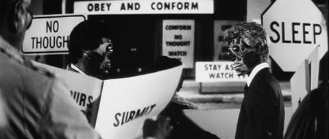 They live typography 1988