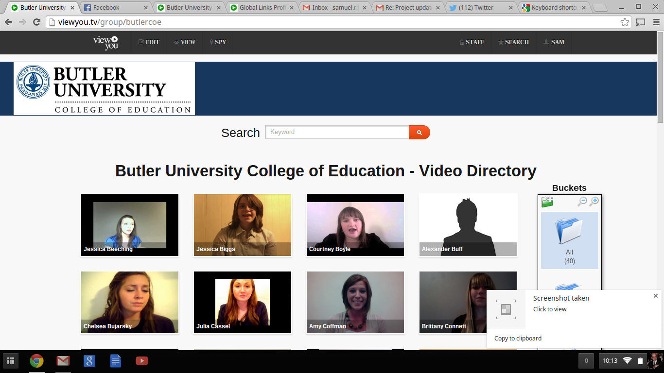ViewYou allows colleges & universities to share their