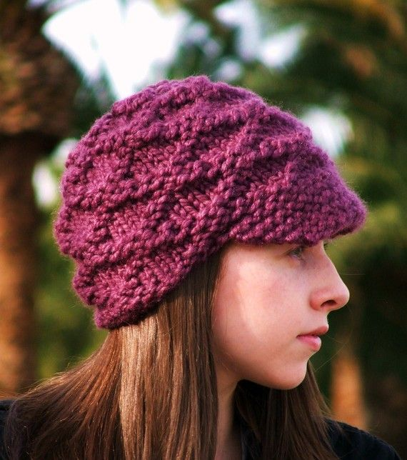 Chunky Knit Wool Hat Tish Johnstone Pinterest Knitted Hat