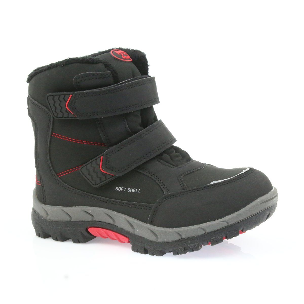 American Club American Boots Winter Boots With A 3123 Membrane Black Red Boots Winter Boots Childrens Boots