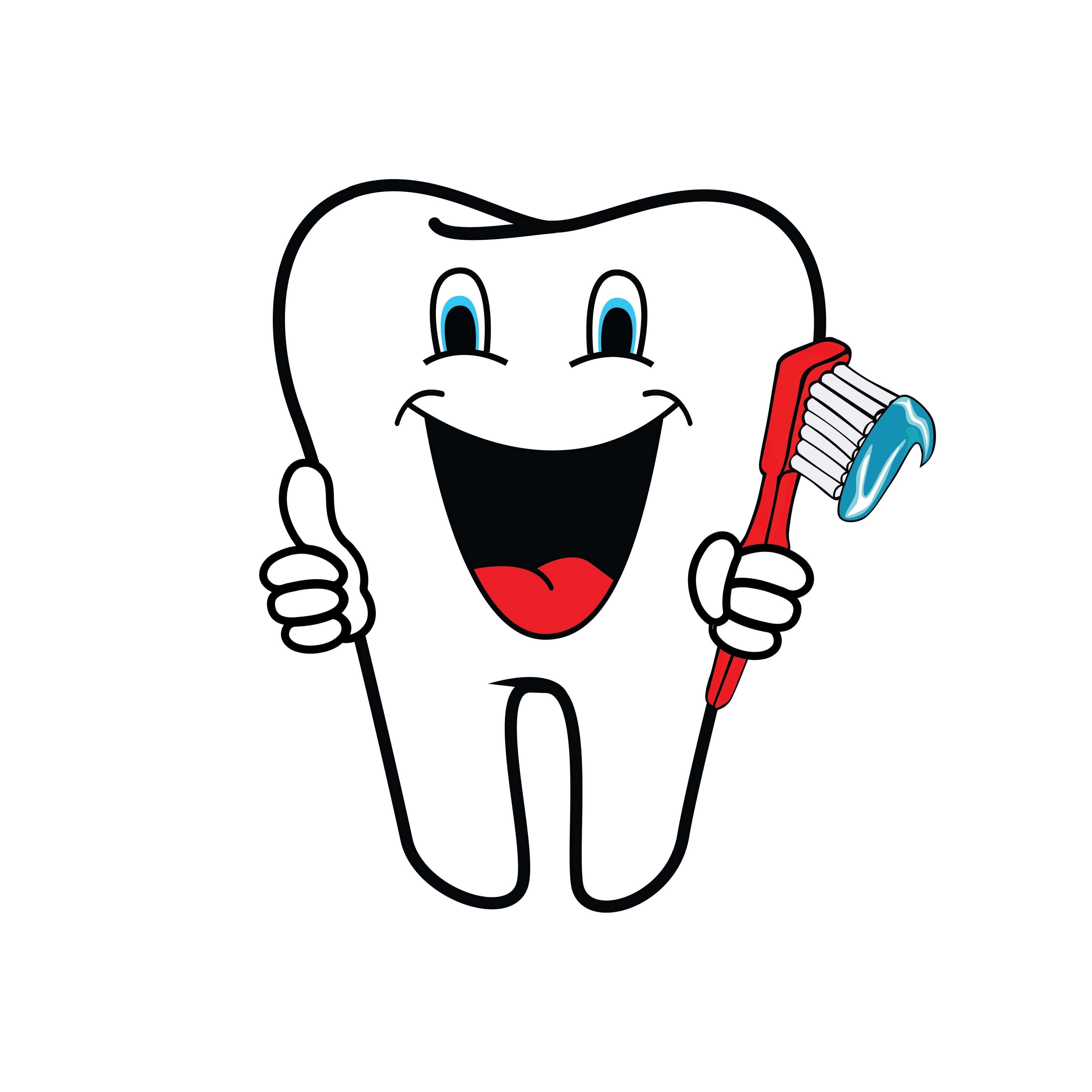 clipart tooth, dental health, dentist, dentistry, healthy