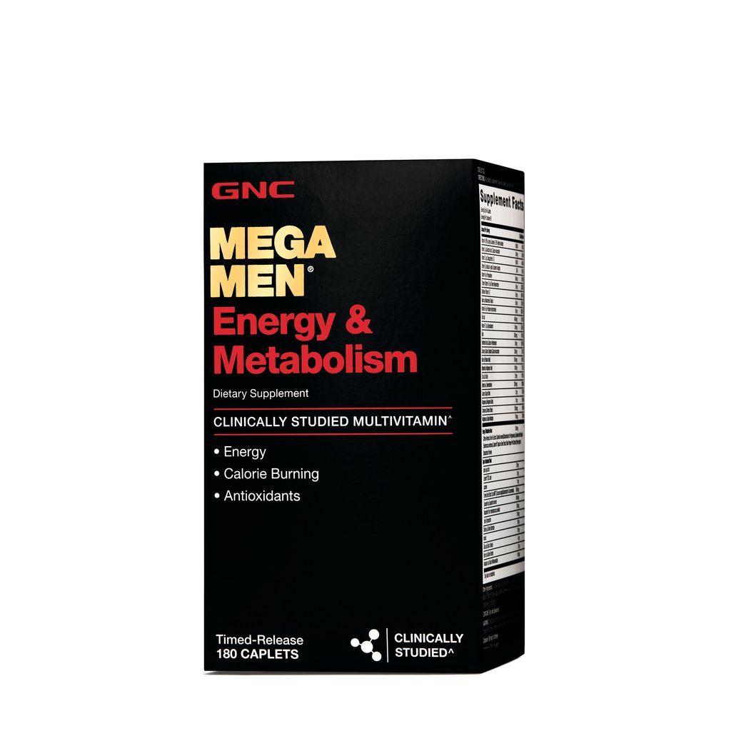 Gnc Mega Men Energy & Metabolism Multivitamínico 90