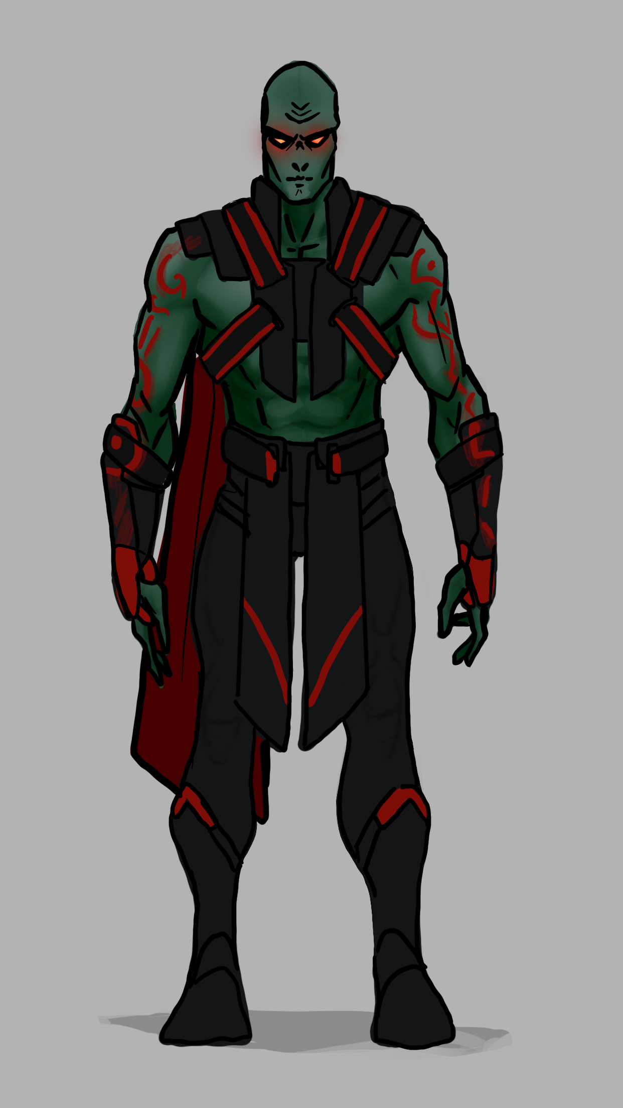 Martian Manhunter Comics Quick Redesign The Martian Superhero Art Marvel And Dc Characters