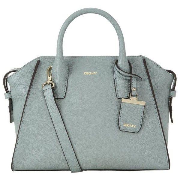 DKNY Medium Chelsea Satchel ($355) ❤ liked on Polyvore featuring bags,  handbags,