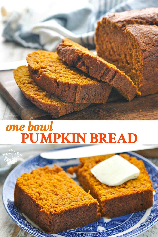 Easy Pumpkin Bread Recipe - The Seasoned Mom