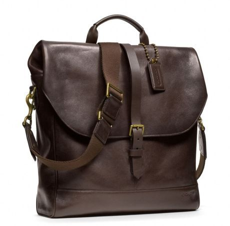 BLEECKER LEATHER PANNIER BAG