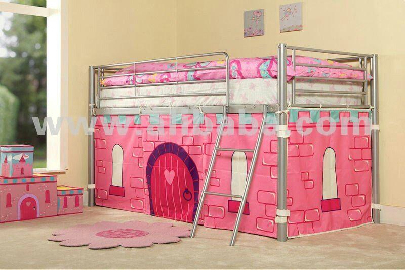 Cortina cama castillo