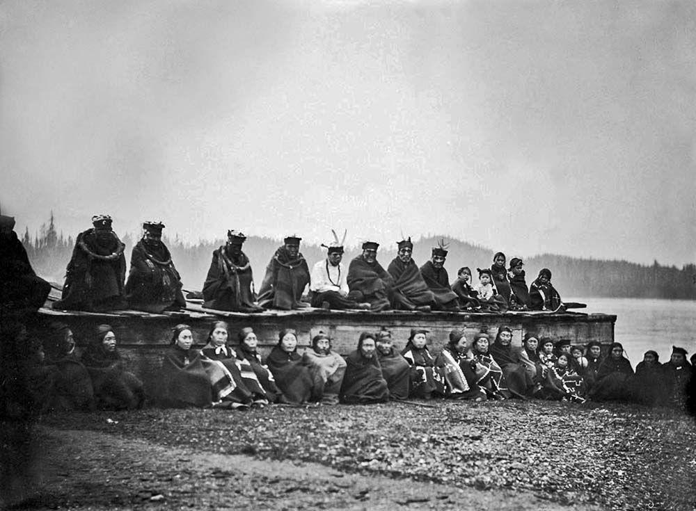 Kwakiutl group 1895 | Native american history, Old photos ...