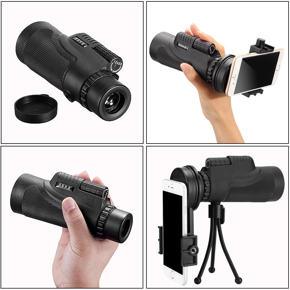 Mini Style 10XHD Phone Telescope Lens Phone Monocular