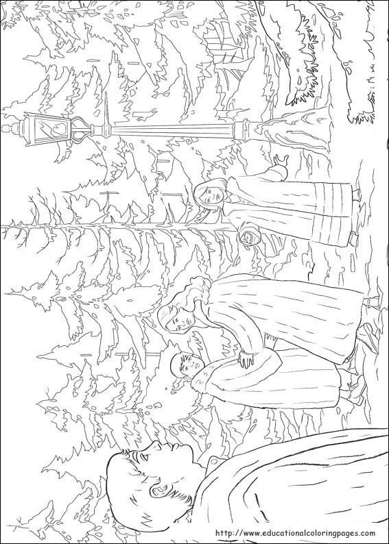 Narnia coloring page | Chronicles of Narnia Enrichment Activities ...