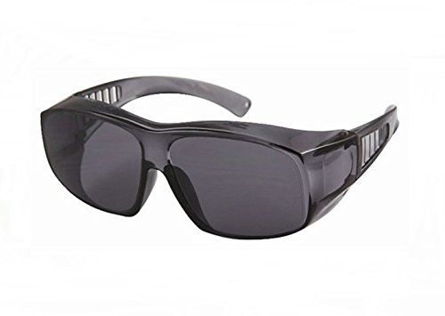 Large Frame Fit Over Sunglasses Light Grey Tint Lenses Vented Arms ...