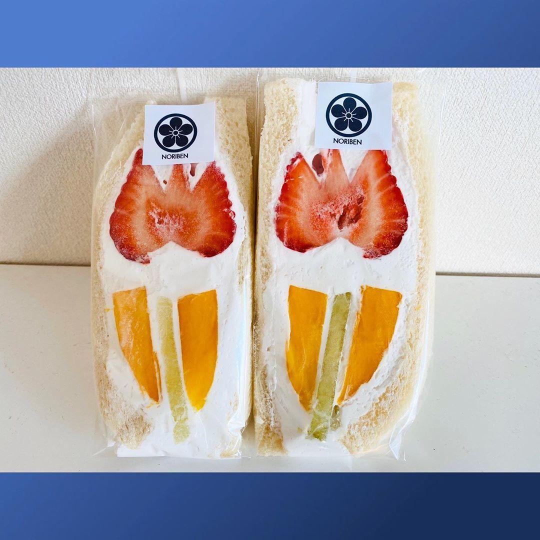めい サンド ぜん や フルーツ ぜんめいやのフルーツサンド🍓と名古屋への旅 ‹