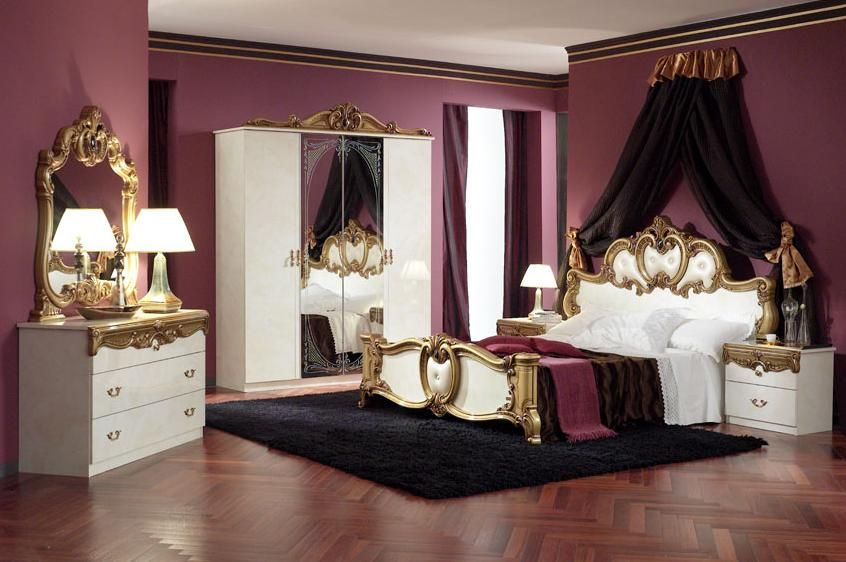 Italian Classic Bedroom Italian Design Furniture By Em Italia