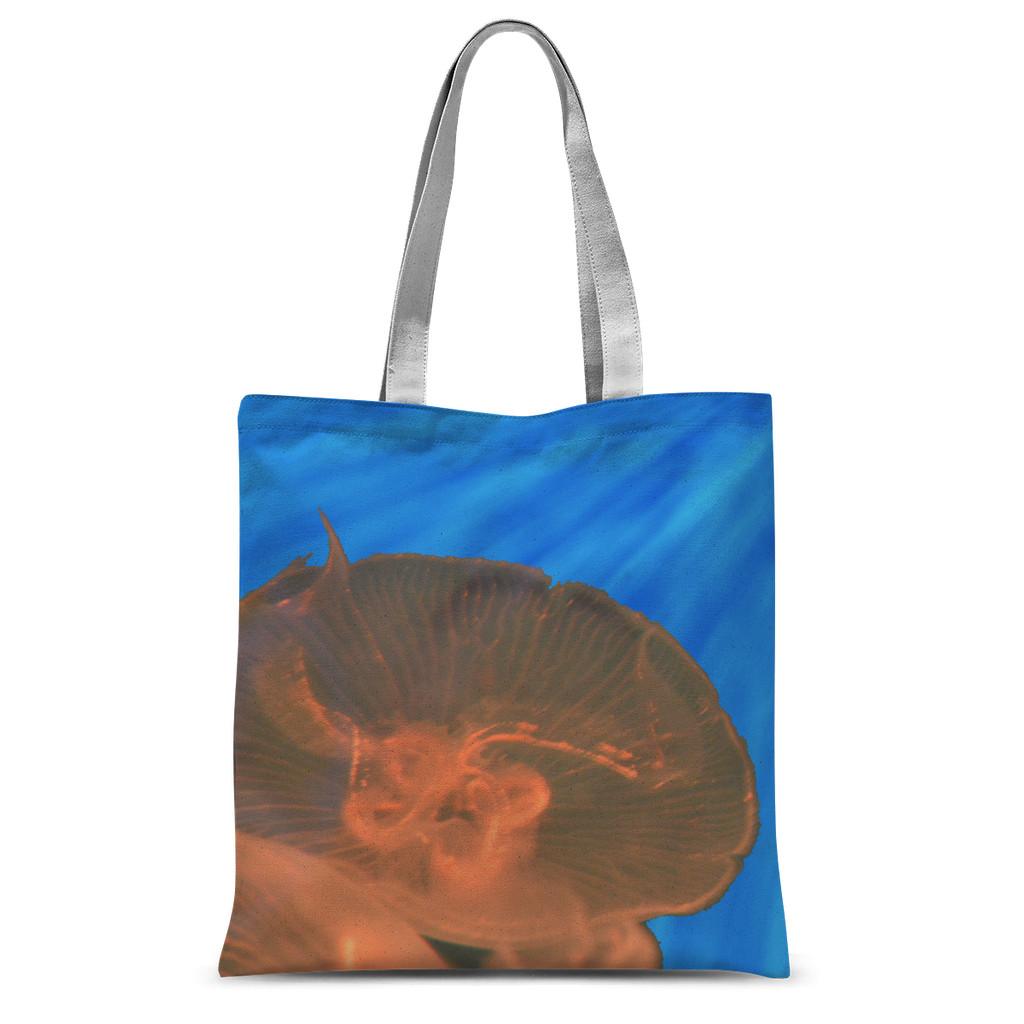 Kikis Castle- Jellyfish in Peach Tote Bag