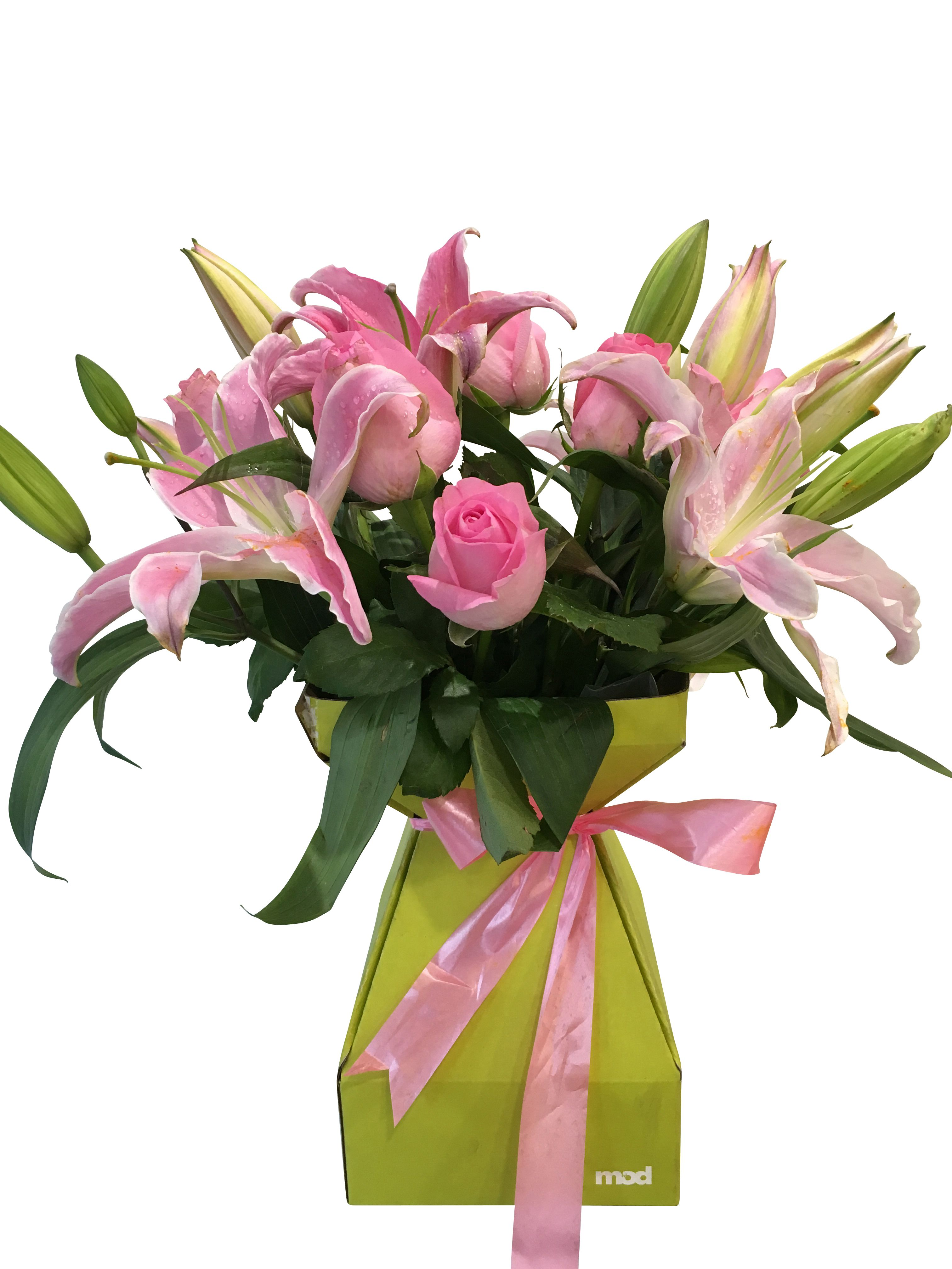 We always choose to send our flowers especially lilies