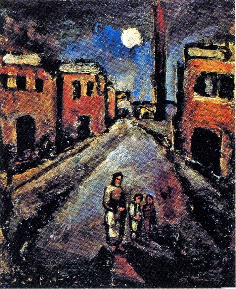 Georges Rouault Fra Henri French Painter Draughtsman And