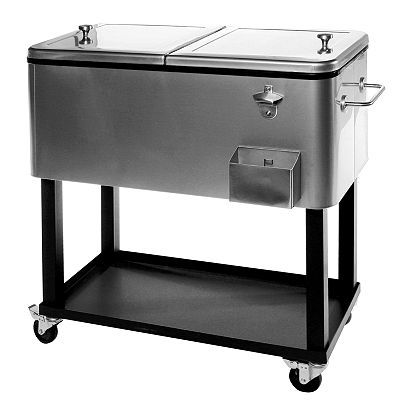 Outdoor Cooler Cart. Because Summer Outdoors Is Best Served With A Cold  Beverage. #