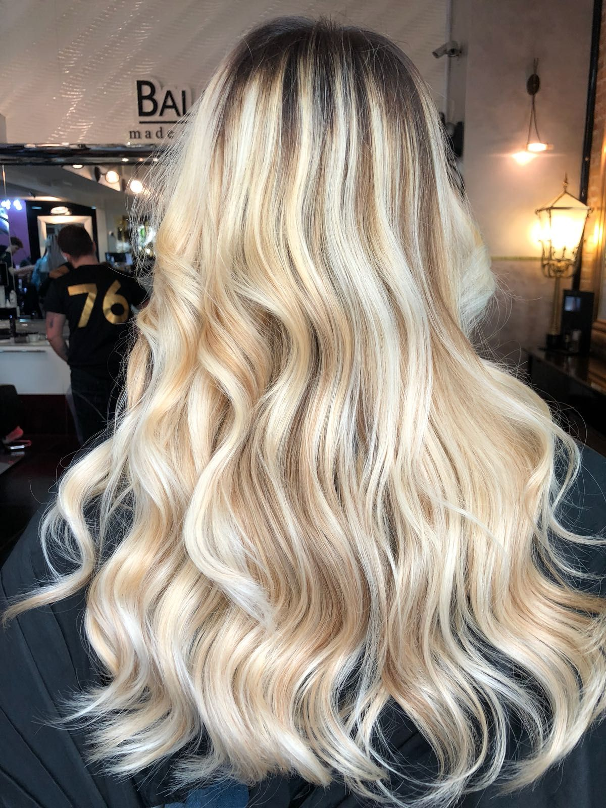 Pin by buket on saç stilleri pinterest wavy hair and blondes