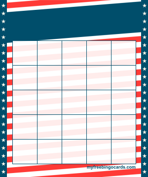 Myfreebingocards Com Free Printable And Virtual Bingo Card Templates Bingo Card Template Bingo Template Free Printable Bingo Cards