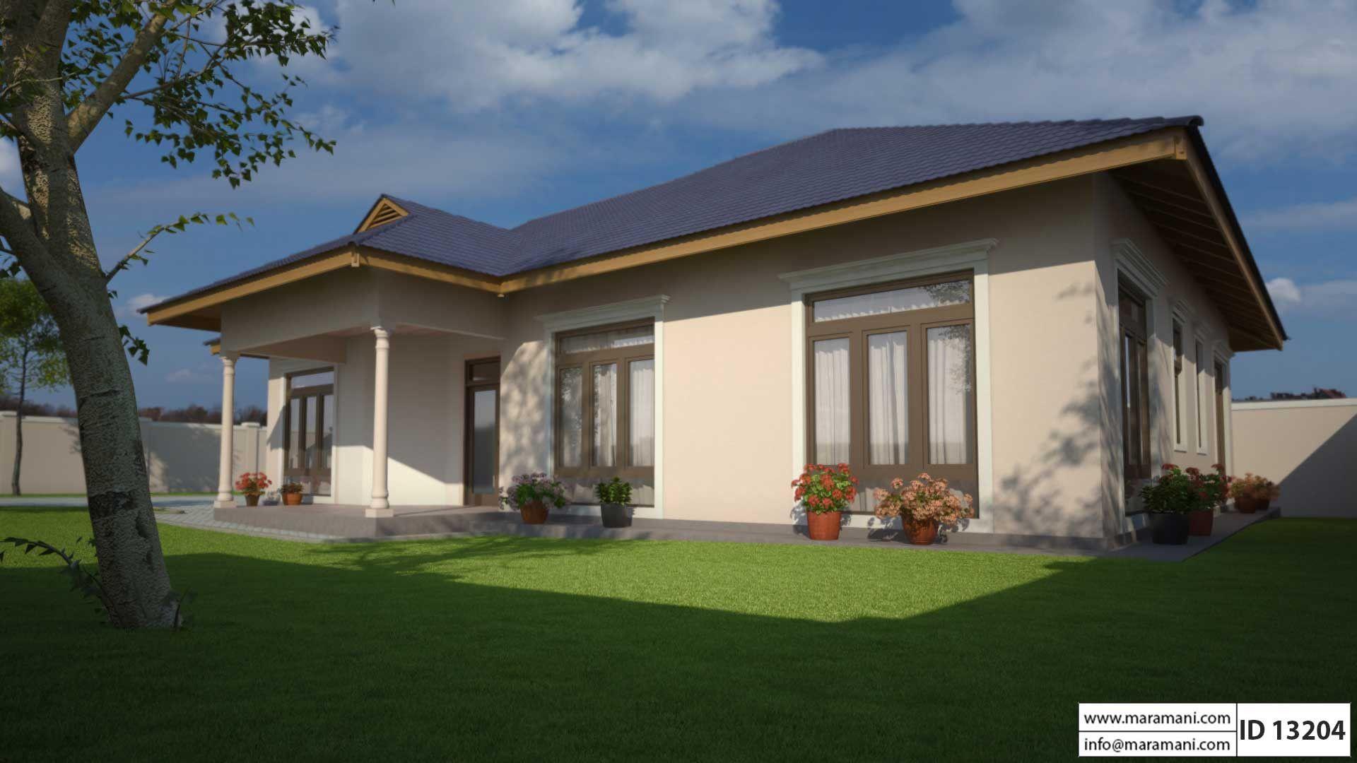 Small Three Bedroom House Plan Id 13204 Floor Plans