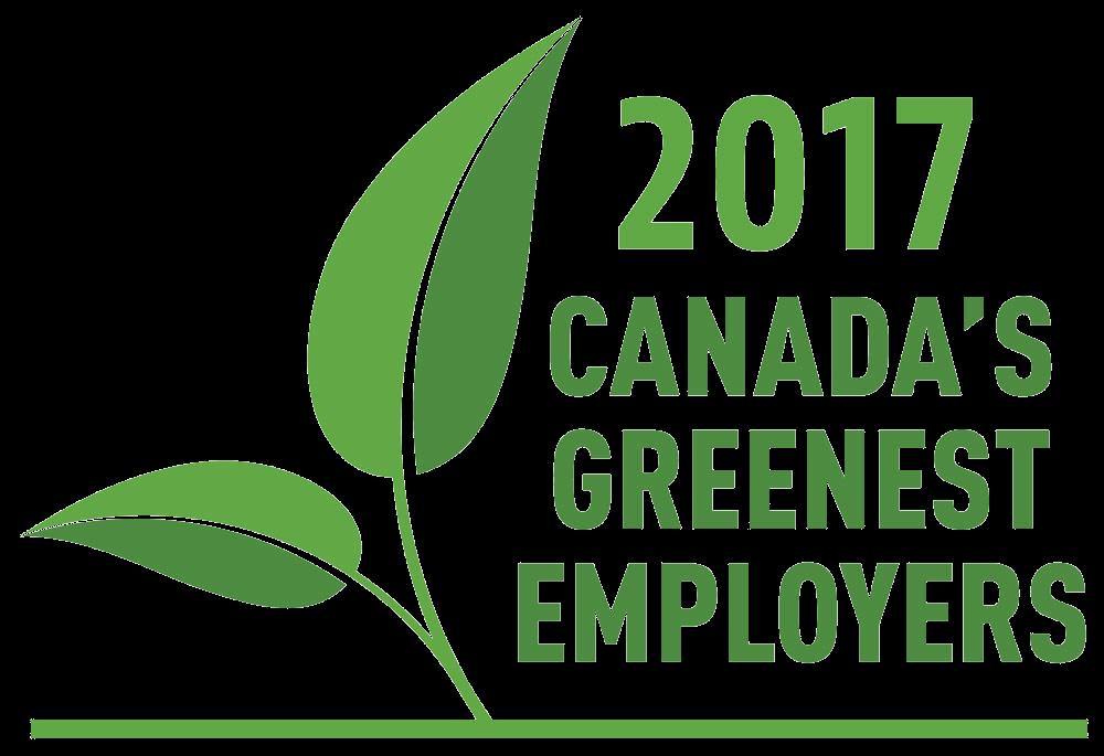Canada's Greenest Employers 2017 Greenest