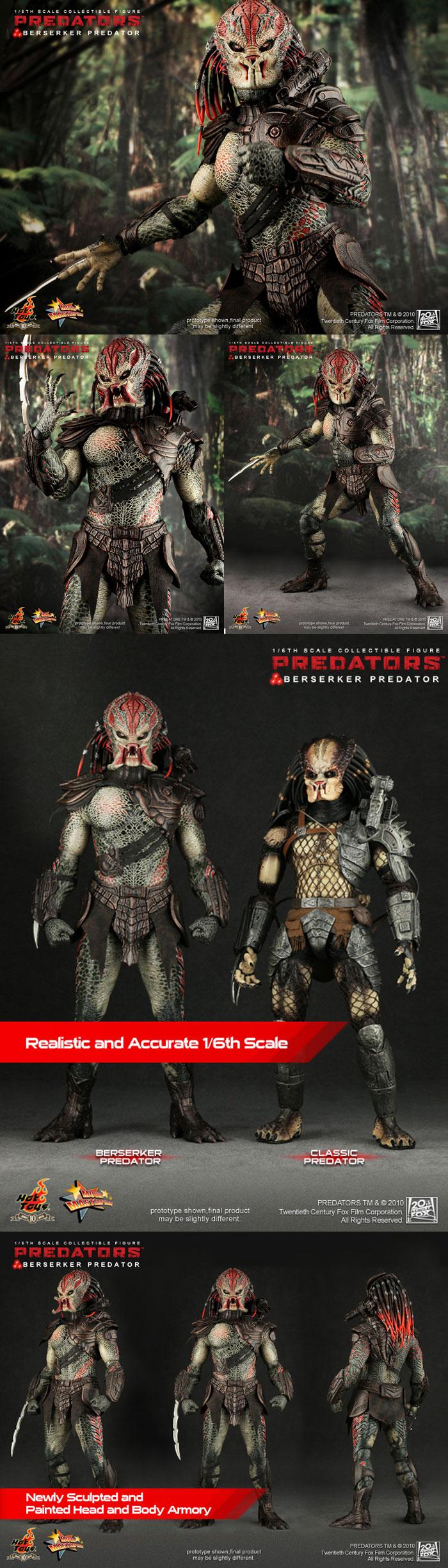 [Predators: 1/6th scale Berserker Predator]