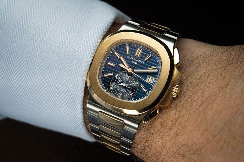 32cafdc3108 Patek Philippe Nautilus Men s Chronograph Watch - 5980 Watch Review ...