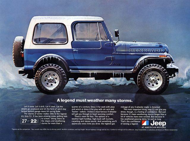 Jeep CJ adv
