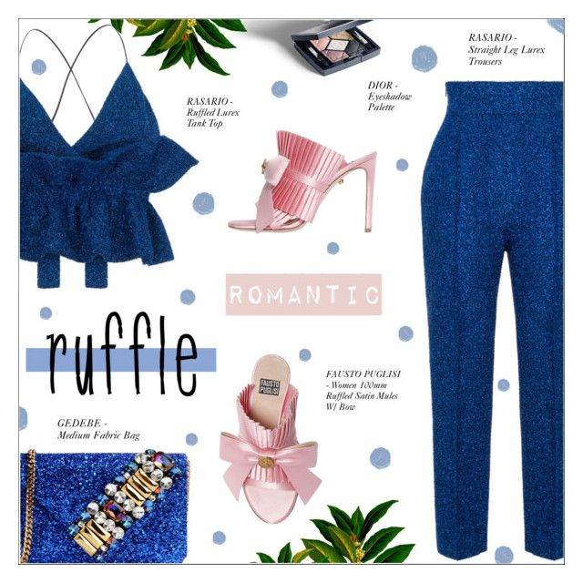 Pin By Iffah Fathin On Style: ADD SOME FLAIR: RUFFLED TOP