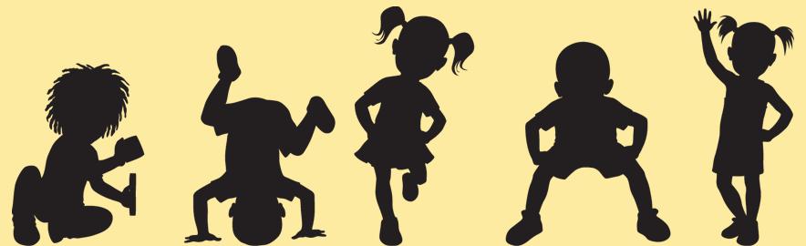Moms Treehouse Com Kids Silhouette Silhouette Music Silhouette