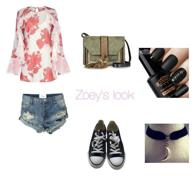 """""""Untitled #39"""" by ameliaristickitty on Polyvore featuring Alice McCall, One Teaspoon, Converse and L'Autre Chose"""