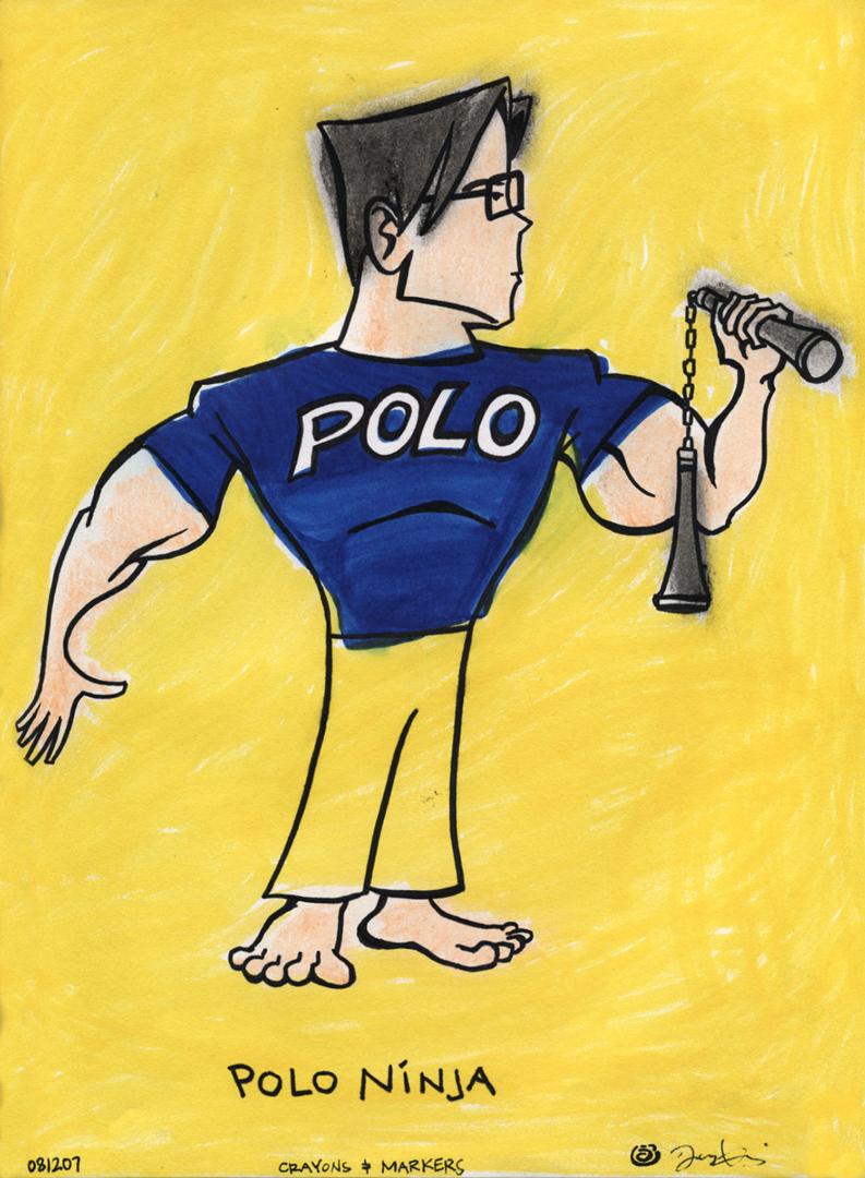 Polo Ninja D Art Pinterest d art and d