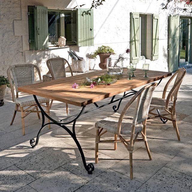 donnez du prestige et de l 39 l gance vos d ners et d jeuner au jardin ou sur la terrasse la. Black Bedroom Furniture Sets. Home Design Ideas