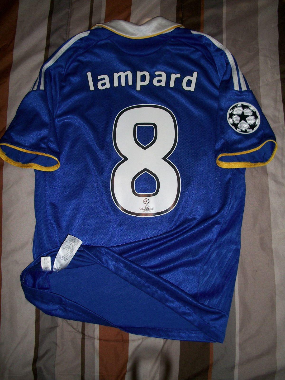 RARE Adidas Chelsea FC Home Soccer Football Jersey 2007 2008 Lampard please  retweet a19e50a4f