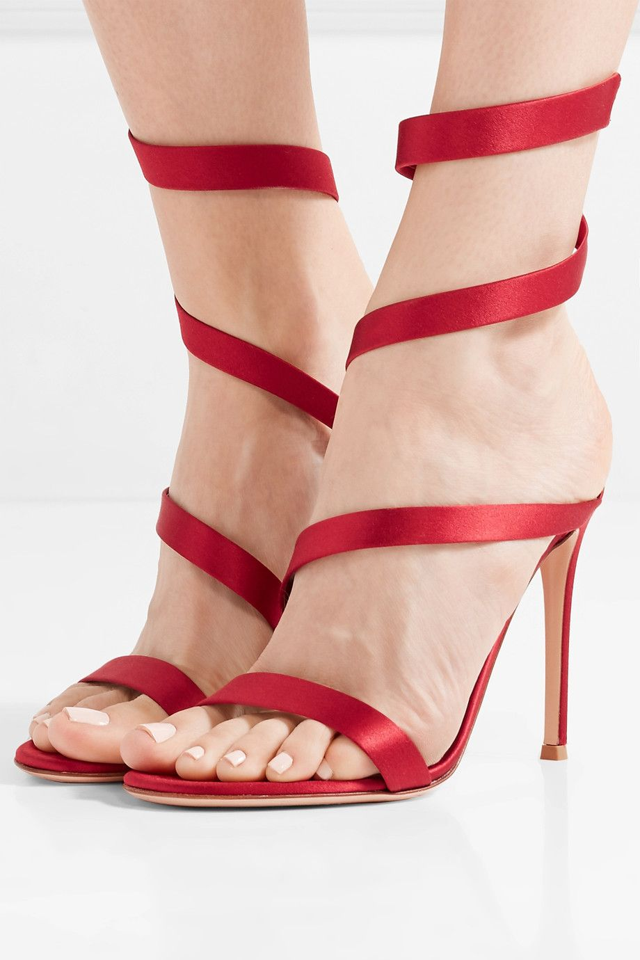 Gianvito Rossi Opéra 100 Sandales - Rouge o1lAc