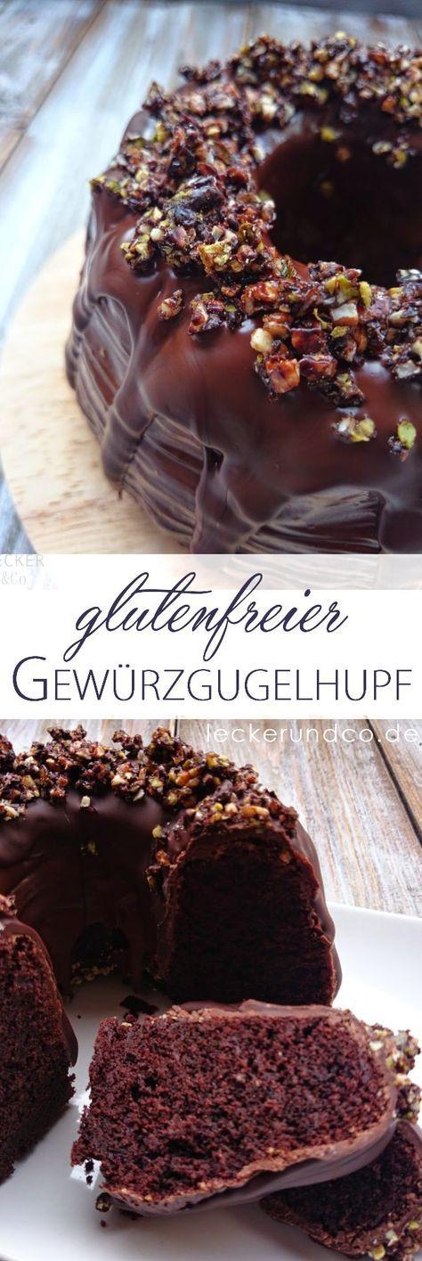 Schokoladen-Gewürz-Gugelhupf – glutenfrei – Bäckereien