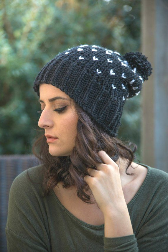 8b6ee6dfc3a3c Chunky Knit Hat